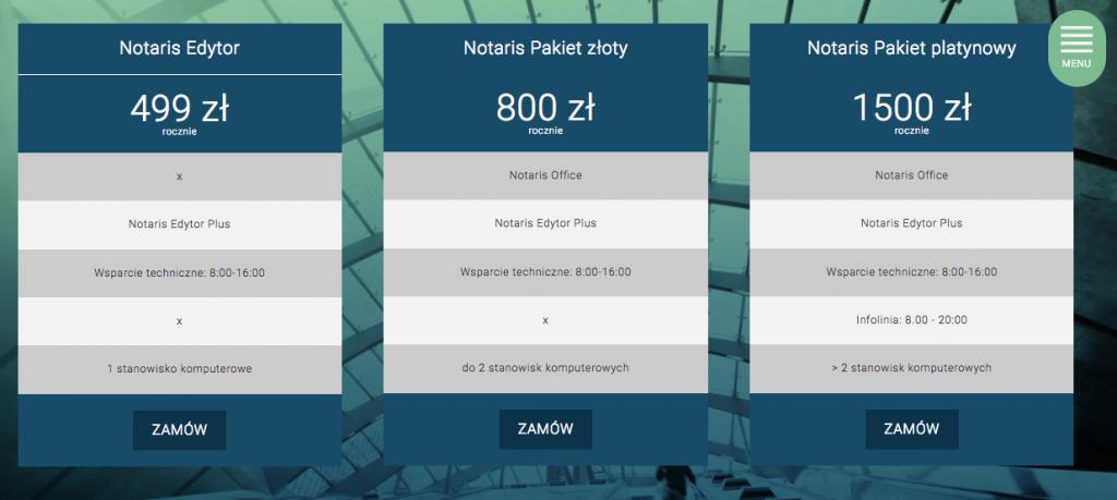 Obraz programy dla Notariusza z rodziny aplikacji Notaris