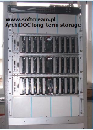 ArchiDOC long-term storage