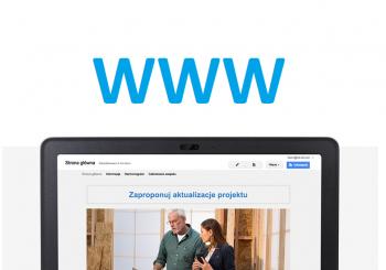Prosta strona WWW dla firmy